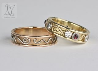 handmade gold rings