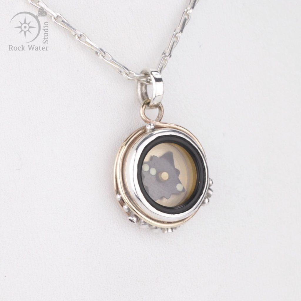 Working Compass Necklace Gift (g421)