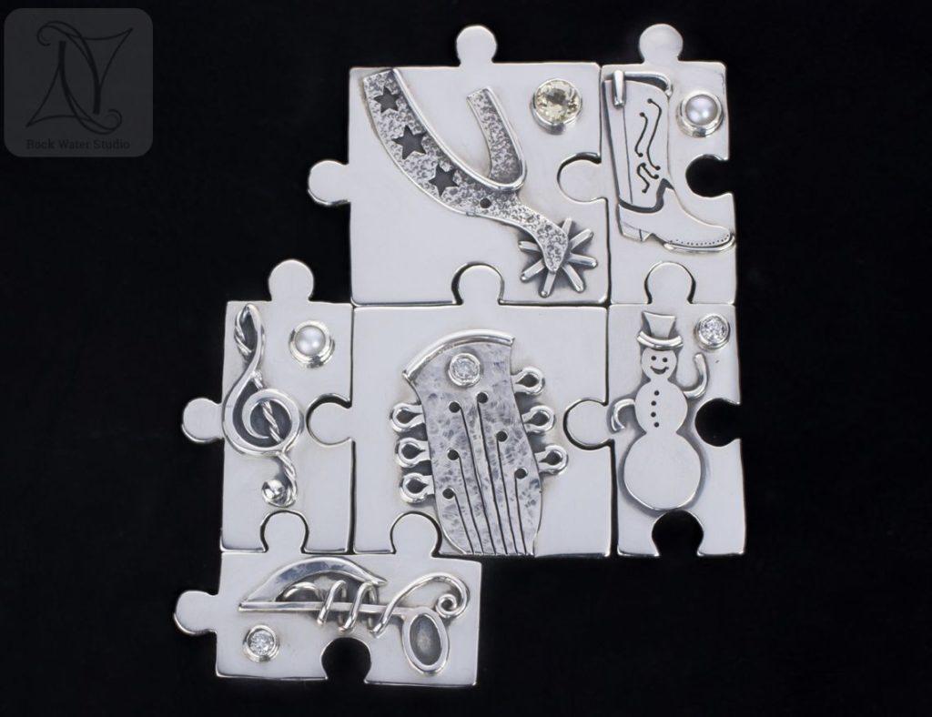 Whole Silver Jigsaw