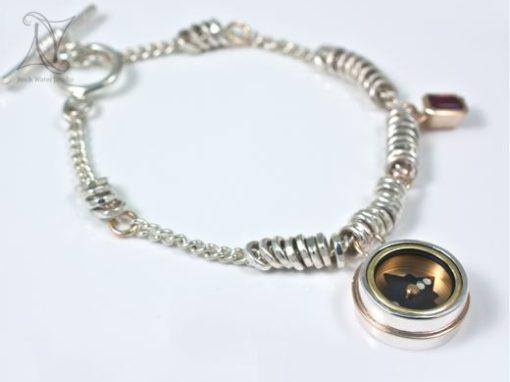 Elegant Explorer Compass Bracelet