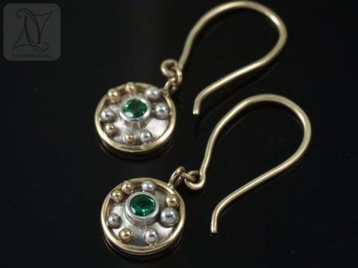 Tsavorite Libretto Earrings