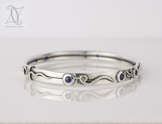 Botanical Bangle gift for wife to say thank you (g463)