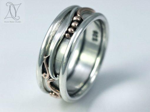Botanical Wedding Ring