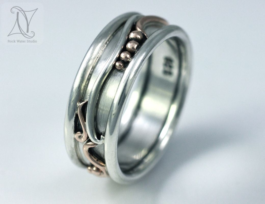 Botanical Wedding Ring (g284)