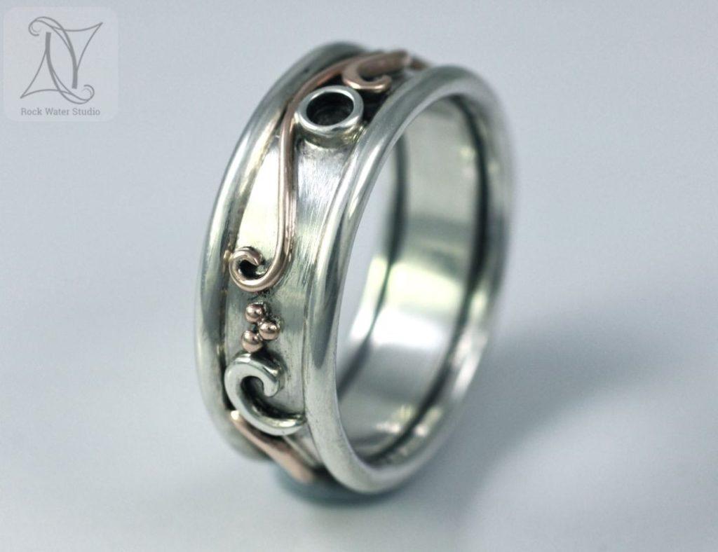 Natures Botanical Wedding Ring (g284)