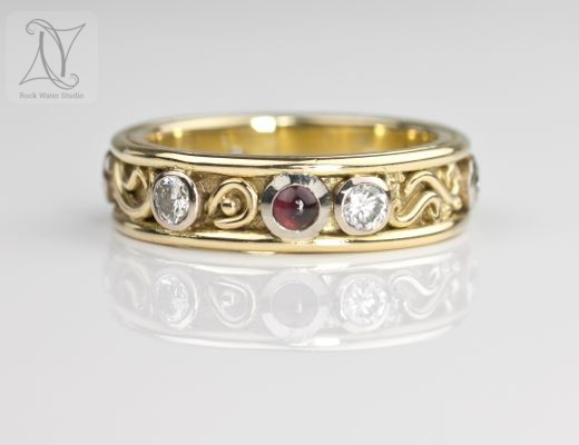 Handmade Diamond Eternity Ring