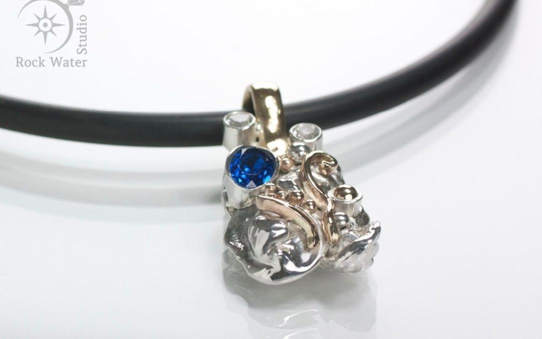 Sapphire Flow Necklace