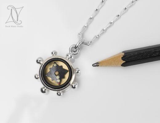 Graduation Compass Necklace