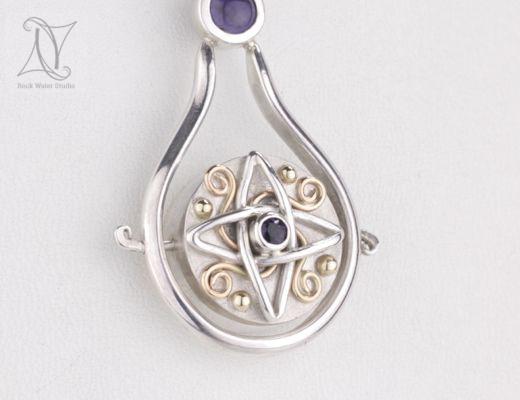 Vikings Compass Pendant Gift (g426)