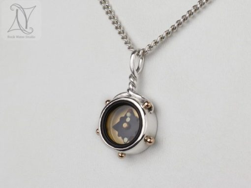 5 Elements Compass Necklace