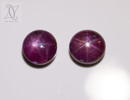 Pair of Star Rubies