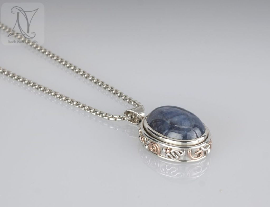 september birthstone necklace birthday gift for wife (g134)