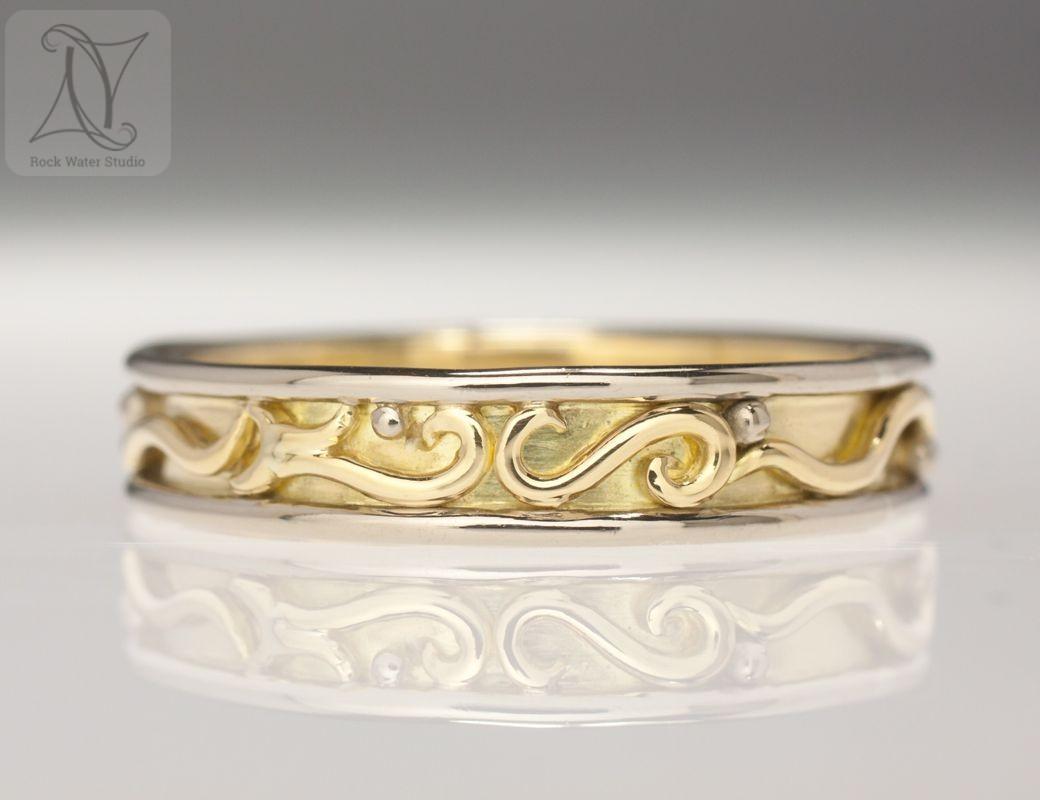 Handmade Gold Wedding Ring
