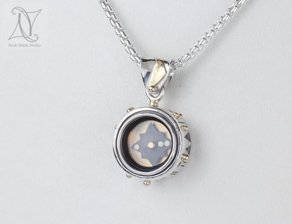 Forest Trail Compass Pendant (g497)