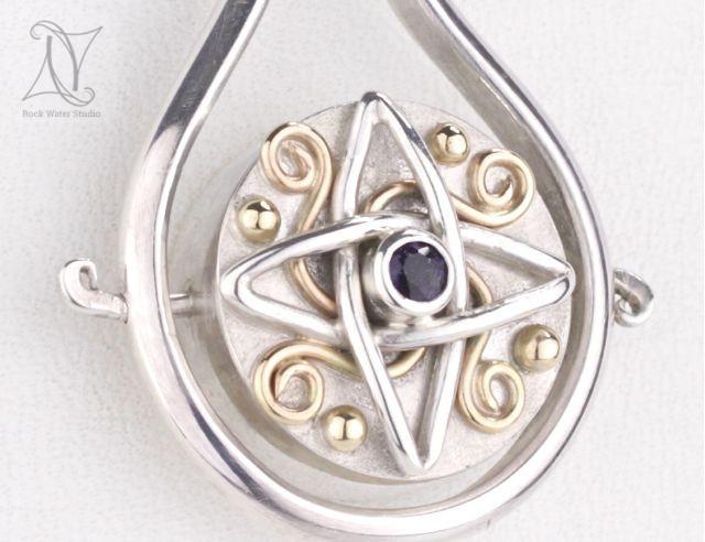 Vikings Compass Pendant Gift for her boyfriend (g426)