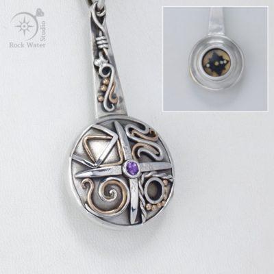 Sapphire 4 Seasons Compass (g491)