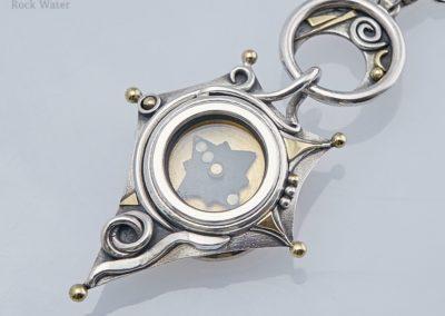 Star Talisman Compass Necklace (g507)