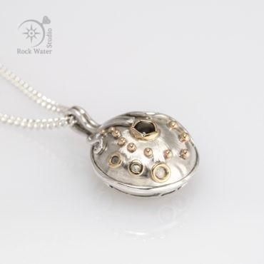 Black Star Compass Necklace Graduation Gift (g506)