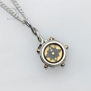 5 Elements Compass Necklace (g474b)
