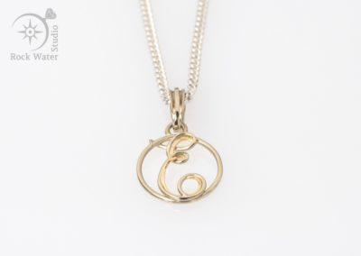 Handmade gold jewellery 21st birthday gift