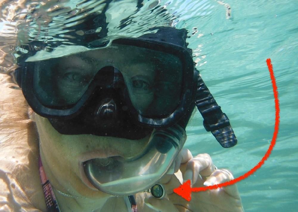Waterproof Silver Compass Pendant