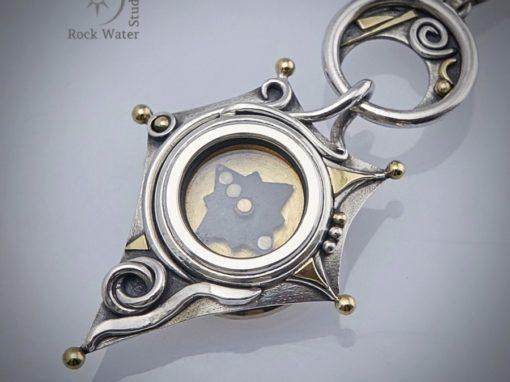 Star Talisman Compass Pendant