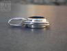 Love Knot Button Compass Pendant Size (g467)