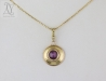 star ruby necklace wedding anniversary gift for your wife (g140)