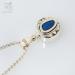 Keepsake silver compass pendant with waterproof compass inside (G558)